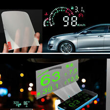 HUD Projector Head Up Display System OBD 2 Auto Car Front Window Reflective Film