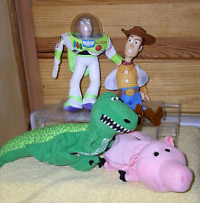 Toy Story 1 Buzz, Woody, Ham & Rex 4 Puppets