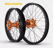KTM MX WHEELS SET FITS ALL XC SX SXF EXC XCW MODELS ANY RIM/HUB COLOR COMBO