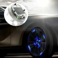 New LED Car Auto Solar Energy Flash Wheel Tire Light Decoration 4 Models 1pcs