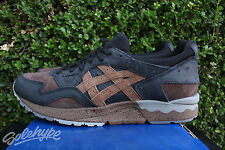 ASICS GEL LYTE V SZ 12 TARTUFO PACK BLACK MID BROWN H6T2L 9061
