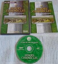 Heroes Chronicles: choc des dragons-heroes of might & magic 3 expansion