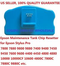 Epson Maintenance Tank Chip Resetter 7800 9800 7880 9880  4000  4800 4880 10000
