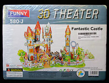 NEW EDUCATIONAL 3D FUNNY FOAM/PAPER CASTLE PUZZLE NIP SEALED