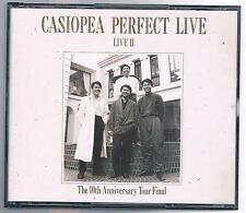 CASIOPEA PERFECT LIVE II THE 10th ANNIVERSARY TOUR FINAL - 2 CD MADE IN JAPAN
