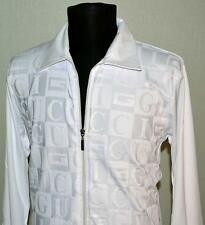 BRAND NEW MEN'S GUCCI Zipper SHIRT SIZE XXL Long Sleeve White