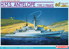 Dragon Models 1/700 HMS Antelope Type 21 Frigate  (closer to 1/600 scale)