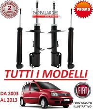 4 AMMORTIZZATORI ANTERIORI+POSTERIORI FIAT PANDA (169) 1.2 NATURAL POWER METANO