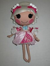 "Lalaloopsy Suzette La Sweet Doll 12"" Full Size White Hair Clothes"