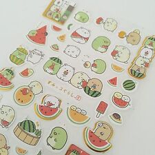 Watermelon Kawaii Stickers Stationery Animal Scrapbook Planners Stocking Filler