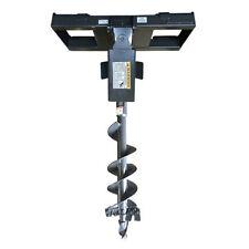 "Skid Steer Auger and Quick Attach Frame, 9"" Bit Included, Free Shipping in USA!"