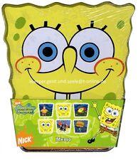 SpongeBob-Schwammkopf-Memorie-Memo-32-Spielkarten-Gedächtnisspiel-OVP-neu-new