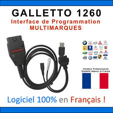 ★ Câble / Interface GALLETTO 1260 + Logiciels ECUSAFE & IMMOKILLER - Flash OBD Ø