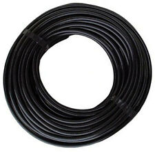 "1/4"" OD 25 Feet SOFT Flexible Black Vinyl Drip Tubing Hydroponic"