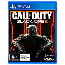 NEW Call Of Duty Black Ops 3 R18+ - PS4