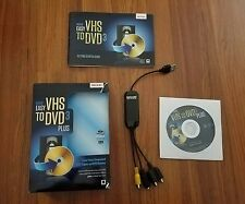 Roxio Easy VHS to DVD 3 PLUS (Retail) (1 User/s) - Full Version for Windows 251…