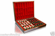 Great STAUNTON No.5 DELUXE - Weighted Professional Chess Pieces in Wooden Box!!!