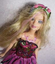 2007 Magic Mariposa Barbie Butterfly Fairy Fairytopia 11 in doll w/DRESS CLOTHES