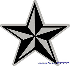 STICKER AUTOCOLLANT REFLECHISSANT REFLECTIVE ETOILE STAR MOTO CASQUE SECURITE