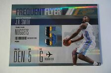 2010/11 Absolute FREQUENT FLYER #15 J.R. SMITH JERSEY #ed 2/5 MADE 4 color !