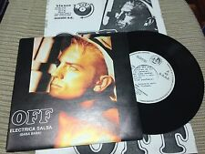 "OFF SVEN VATH SPANISH 7"" SINGLE SPAIN PROMO ELECTRICA SALSA ELECTRO +RADIO PRESS"