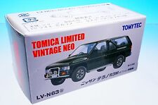 TOMYTEC TOMICA LIMITED VINTAGE NEO LV-N63b NISSAN TERRANO R3M 1/64 New!!