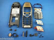Original Nokia 6310 6310i Reparatur SET Jet Black Handyschale Cover Lautsprecher