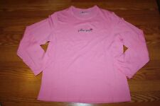 NEW Womens JUNE & DAISY Pink Follow Your Heart Sleepwear Top Shirt Size 2XL XXL