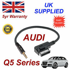 AUDI Q5 Series AMI MMI 4F0051510F Music Interface 3.5mm Jack input Cable