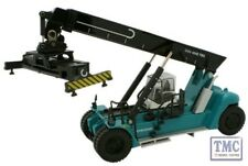 76KRS001 Oxford Diecast Konecranes Reach Stacker Blue 1/76 Scale OO Gauge