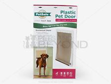 PetSafe Plastic XL EXTRA-LARGE Dog Pet Door Premium PPA00-10961 Dogs 12-200 lbs