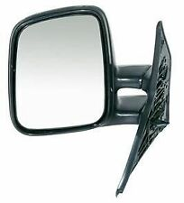 VW Transporter T4 L/H Door Mirror Complete (Manual) 1990-03 Passenger Side VAN