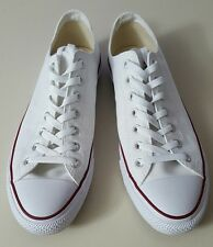 Converse All Star Chuck Taylor Canvas Shoes Size Men's 11 women's 13 White