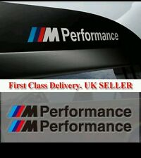BMW F30 M Performance BLACK x2 Side stickers Decals Vinyl Graphics 1 3 5 series