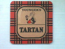 YOUNGER'S - TARTAN Beermat / Coaster  - Inverness - Great Scottish Attractions
