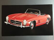 1960 Mercedes Benz 300 SL Roadster Picture / Print / Poster RARE!! Awesome L@@K