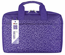 "Trust 21164, smart & élégant bari 13.3"" ordinateur portable tablette ultrabook violet sac de transport"