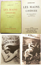 CURIOSA/LES MAINS CHERIES/J.D'ICY/ED ORTIES BLANCHES/1975/L.MALTESTE ILL/FESSEES