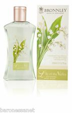 BRONNLEY LILY OF THE VALLEY CLEANSING SHOWER GEL 250ML Jasmine Honey Rose