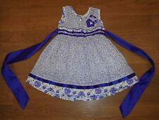 boutique purple & white dress Moda Infantil size 1