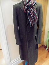 CHESTER BARRIE HAND TAILORED MENS WINTER COAT GREY HERRINGBONE 38-42'' CHE