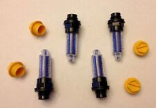 4 AIRCRAFT SILICA DESICCANT DEHYDRATOR PLUGS CESSNA PIPER LYCOMING TCM MS27215-2
