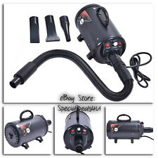 Pet Dog Animals Hair Dryer Portable Air Mover Blower Heater Grooming Salon Home