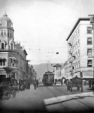 Photo. ca 1908. Pasadena, California. N on Fair Oaks Ave