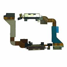 Apple Iphone 4S USB Charging Port Dock Replacement Connector Flex Cable Black