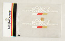 4 Inch JDM Mugen Power Decal Stickers White Color Made in Japan Honda Acura