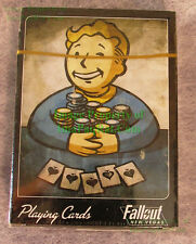 FALLOUT New Vegas VAULT BOY Deck of Playing Cards NEW Sealed! VHTF