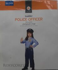 Halloween Toddler Police Office Enforcer Costume Size 18-24 months NWT