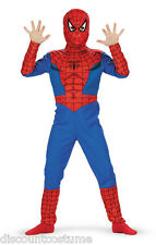 LICENSED MARVEL'S SPIDER-MAN BOYS HALLOWEEN COSTUME SIZE MEDIUM 7-8