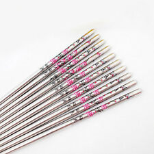 5 Pairs/lot Stainless Steel plum blossom Pattern Chopsticks Durable Chop Sticks